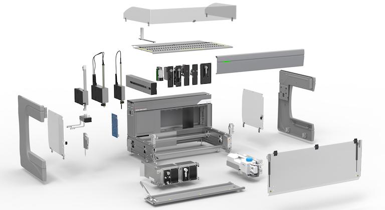 Cavro omni Flex components 2018