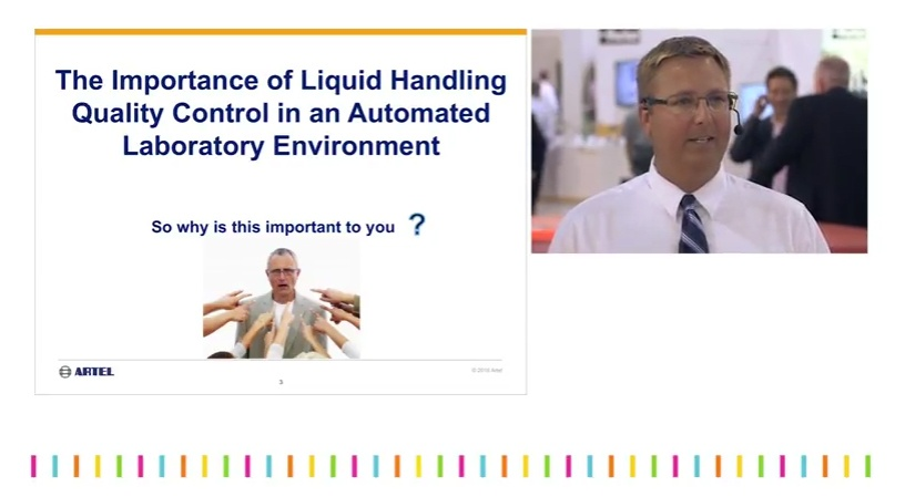 Importance of liquid handling quality control in an automated lab.