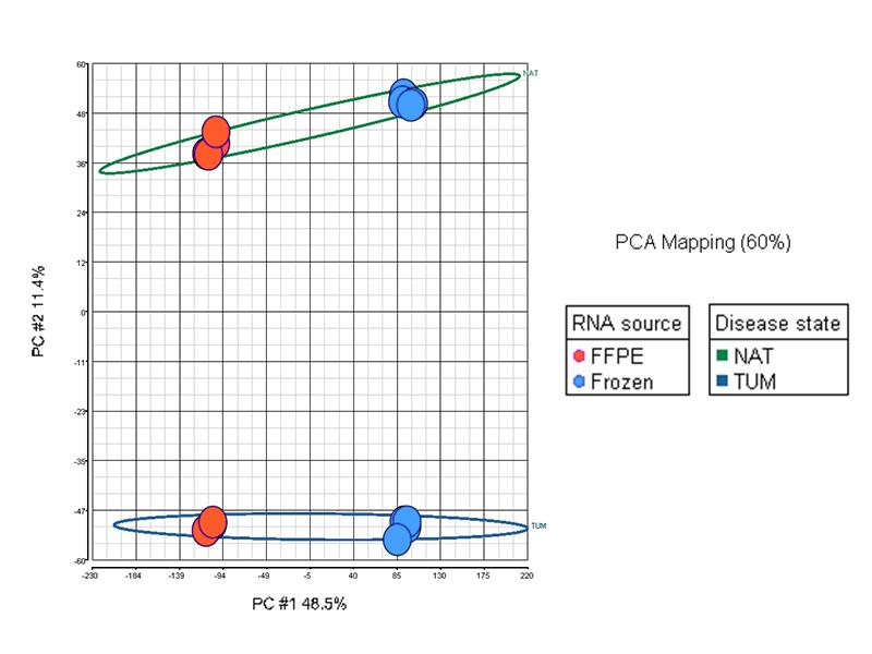 FFPE RNA yields