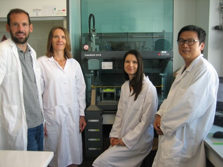 The Bioactive Coatings team at LMGP
